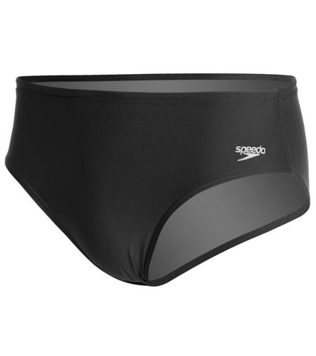 SF Tsunami Black  - Speedo Solid Endurance Brief Swimsuit