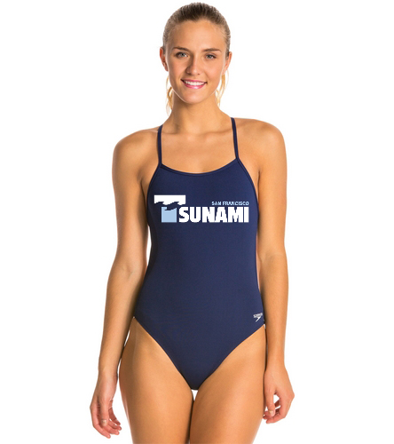 SF Tsunami  - Speedo The One Solid One Piece Swimsuit