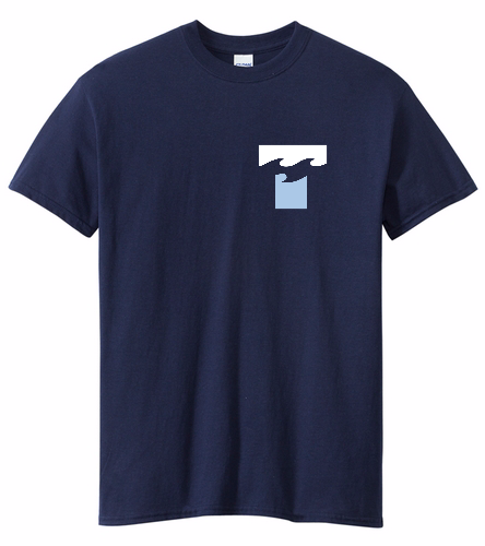 SF Tsunami  - SwimOutlet Unisex Cotton Crew Neck T-Shirt