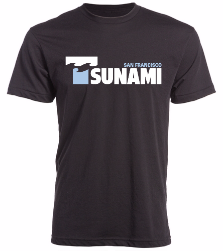 SF Tsunami - Swimoutlet Custom Unisex Fitted Crew Neck T-Shirt