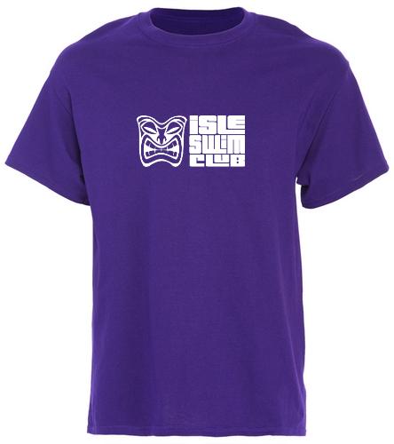 Purple Team Shirt - SwimOutlet Unisex Cotton T-Shirt - Brights