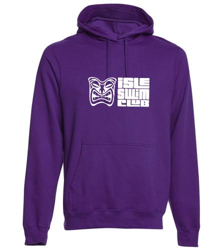Isle Swim Club Hoodie - SwimOutlet Adult Fan Favorite Fleece Pullover Hooded Sweatshirt