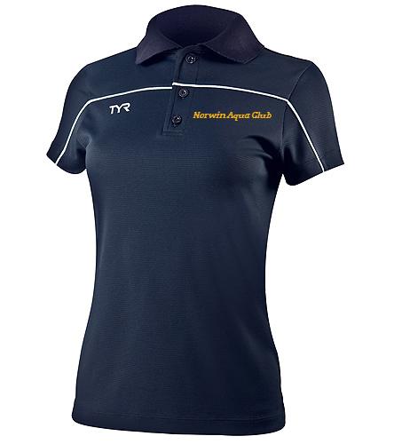 NAC Polo - TYR Alliance Female Tech Polo