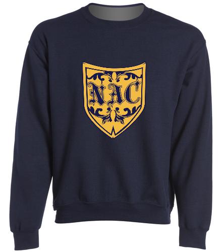 NAC Shield Sweatshirt - SwimOutlet Heavy Blend Unisex Adult Crewneck Sweatshirt