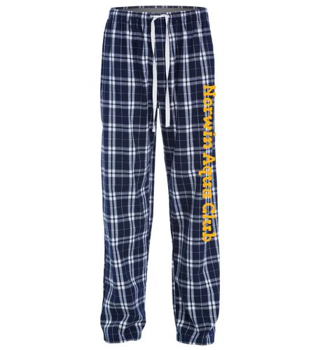 Norwin Aqua Club Pants - SwimOutlet Unisex Flannel Plaid Pant