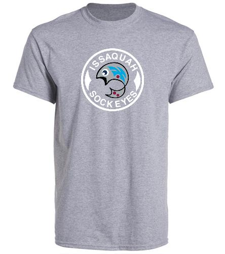Grey Adult Logo - SwimOutlet Unisex Cotton Crew Neck T-Shirt