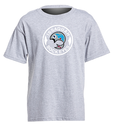 Grey Youth Logo - SwimOutlet Youth Cotton Crew Neck T-Shirt