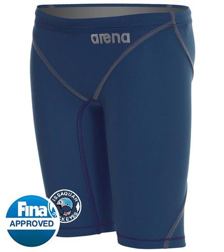 Boys Powerskin Logo - Arena Boys' Powerskin ST 2.0 Jammer Tech Suit Swimsuit