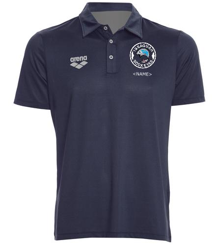 Tech Polo Logo - Arena Unisex Team Line Tech Short Sleeve Polo