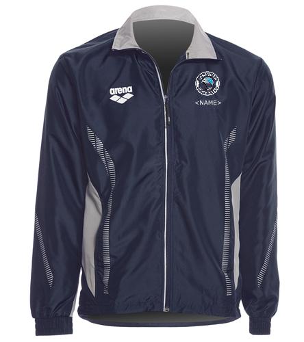 Ripstop Jacket Logo - Arena Unisex Team Line Ripstop Warm Up Jacket