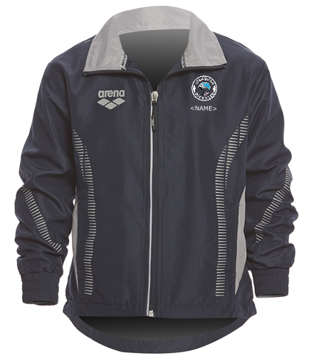 Youth Ripstop Logo - Arena Youth Team Line Ripstop Warm Up Jacket