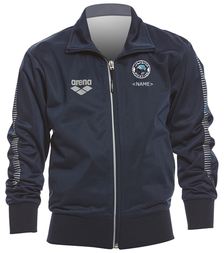 Youth Team Line Knitted Logo - Arena Youth Team Line Knitted Poly Jacket