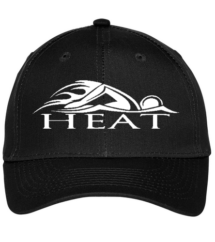 HEAT Hat - SwimOutlet Unisex Performance Twill Cap