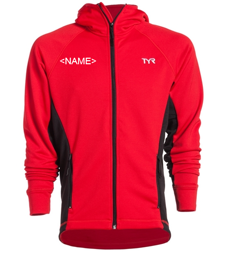 Male Warm up Jacket - TYR Alliance Victory Male Warm Up Jacket