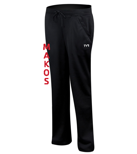 Makos Women's Pants - TYR Alliance Victory Women's Warm Up Pant