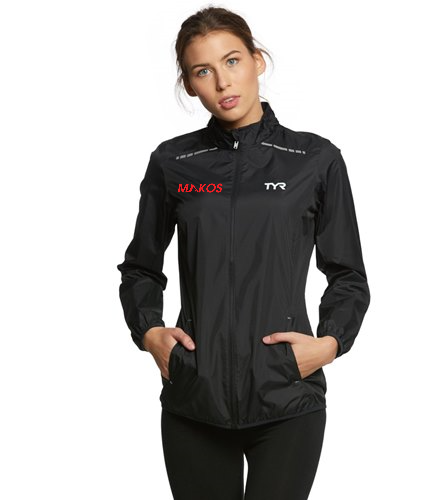 Women's Windbreaker - TYR Women's Alliance Windbreaker Jacket