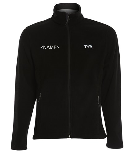 Male Fleece - TYR Men's Alliance Polar Fleece Jacket
