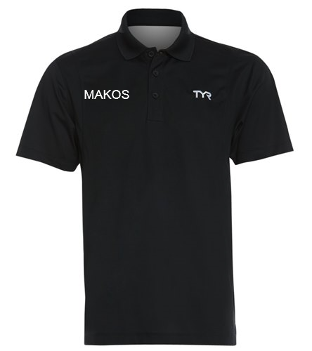 Male Polo - TYR Men's Alliance Tech Polo