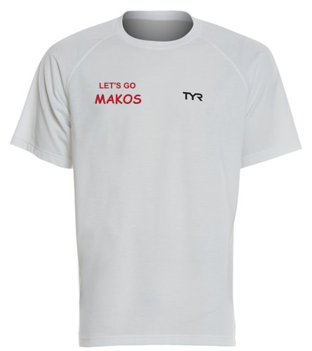 Male Tshirt - TYR Men's Alliance Tech Tee