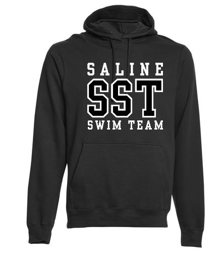 SST Black Hoodie - SwimOutlet Adult Fan Favorite Fleece Pullover Hooded Sweatshirt