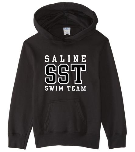 SST Youth Black Hoodie - SwimOutlet Youth Fan Favorite Fleece Pullover Hooded Sweatshirt