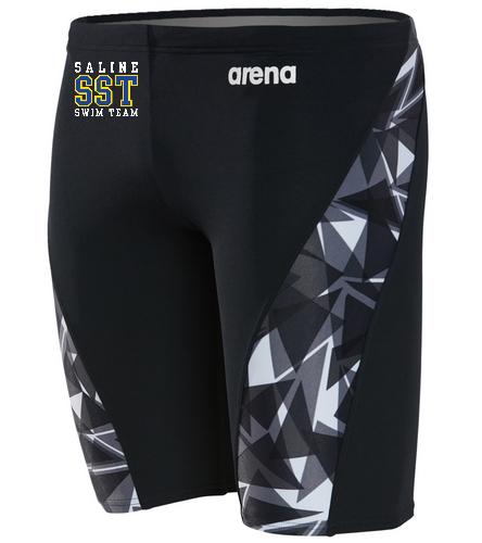 Men's Team Jammer - Arena Men's Shattered Glass MaxLife Jammer Swimsuit