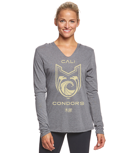 Cali Condors* - SwimOutlet Women's Perfect Long Sleeve Hoodie