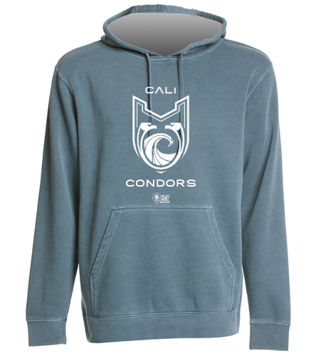 Cali Condors* - SwimOutlet Unisex Midweight Pigment Dyed Hooded Sweatshirt