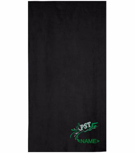 PST Towel - Royal Comfort Terry Velour Beach Towel 32 X 64