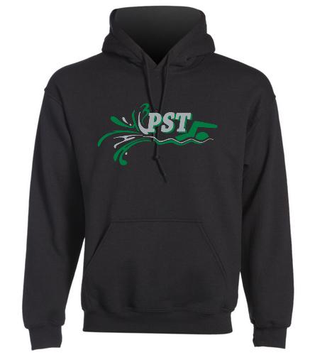 Heavy Blend Adult Hooded Sweatshirt - Black - SwimOutlet Heavy Blend Unisex Adult Hooded Sweatshirt