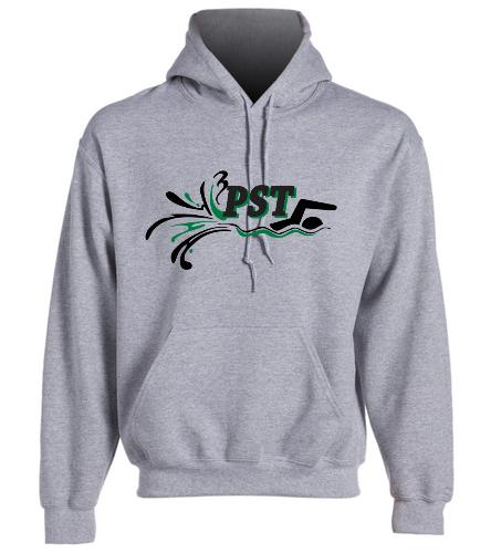 Heavy Blend Adult Hooded Sweatshirt - Gray - SwimOutlet Heavy Blend Unisex Adult Hooded Sweatshirt