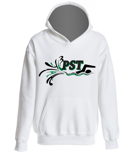 Heavy Blend Youth Hooded Sweatshirt - White - SwimOutlet Youth Heavy Blend Hooded Sweatshirt