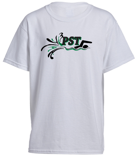 Heavy Cotton Youth T-Shirt - white - SwimOutlet Youth Cotton Crew Neck T-Shirt