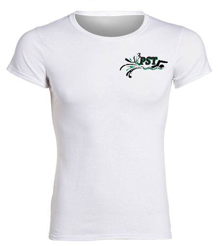 Heavy Cotton Missy Fit T-Shirt  - white - SwimOutlet Women's Cotton Missy Fit T-Shirt