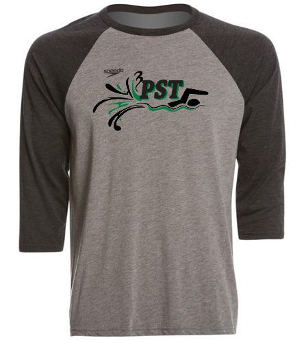 Speedo Unisex Baseball Tee Shirt - Speedo Unisex Baseball Tee Shirt