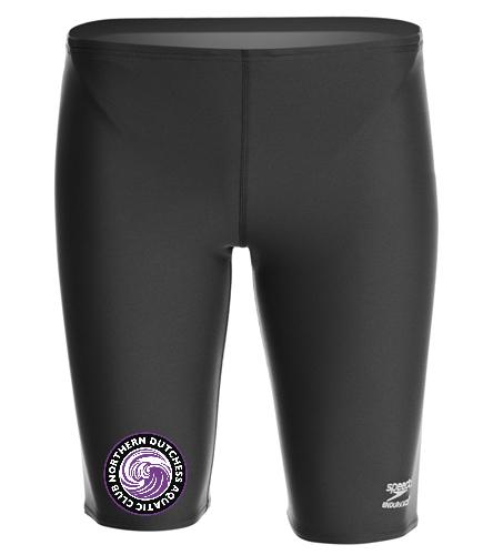 NDAC Adult Jammer - Speedo Men's Solid Endurance+ Jammer Swimsuit