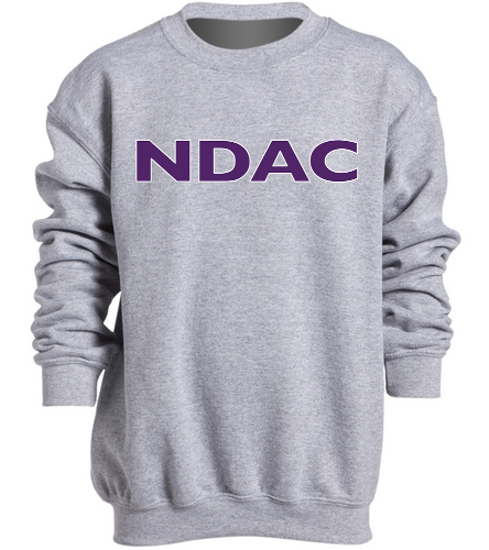 NDAC Grey Youth Crewneck - SwimOutlet Heavy Blend Youth Crewneck Sweatshirt
