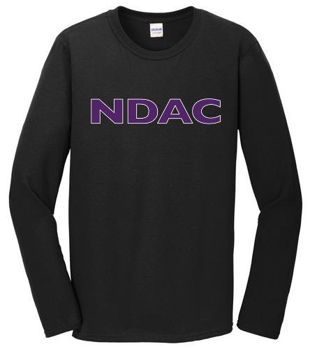 NDAC Long Sleeve Tee Black - SwimOutlet Cotton Unisex Long Sleeve T-Shirt