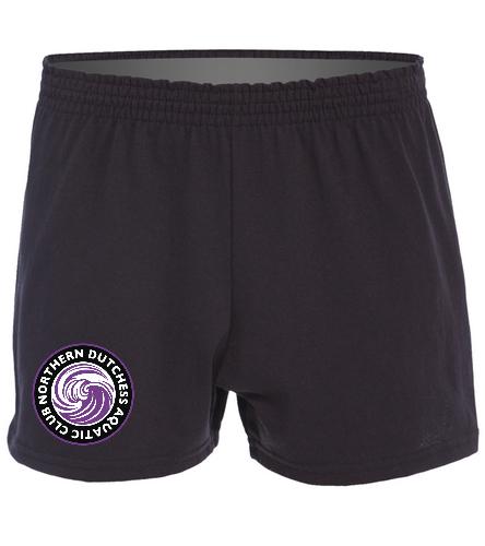 NDAC Logo Short - SwimOutlet Custom Women's Fitted Jersey Short