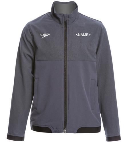 NDAC Grey Coat - Speedo Youth Tech Warm Up Jacket