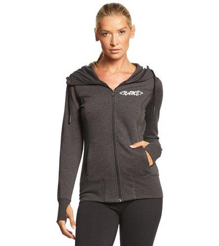 NDAC Letters hoodie - SwimOutlet New Era® Women's Tri-Blend Fleece Full-Zip Hoodie