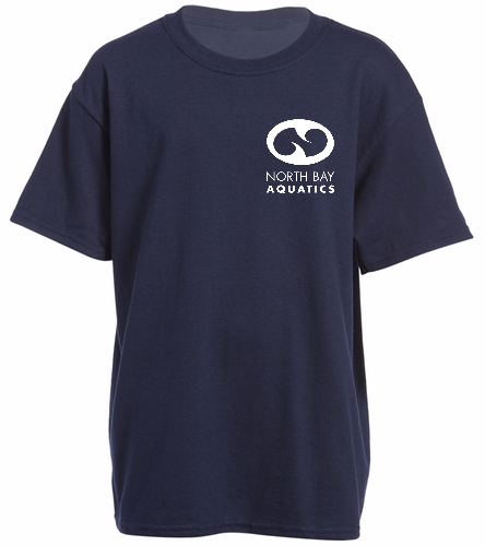 Team   Logo - SwimOutlet Youth Cotton Crew Neck T-Shirt