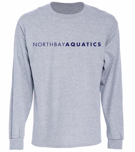 Logo Long sleeve - grey - Long Sleeve T-Shirt