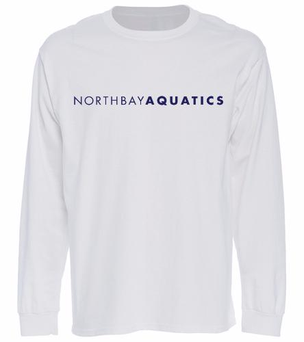 Logo long sleeve - white - Long Sleeve T-Shirt