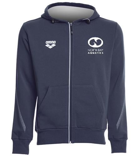 Fleece Jacket - Arena Unisex Team Line Fleece Hooded Jacket