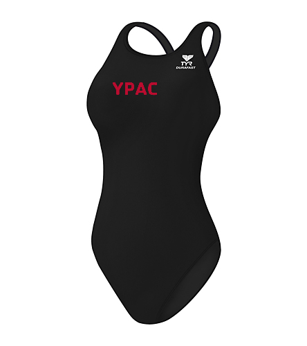 YPAC [EMBROIDERY] - TYR Durafast Elite Solid Maxfit One Piece Swimsuit