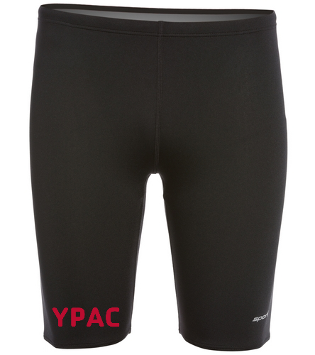 YPAC [EMBOIRDERY] - Sporti Poly Pro Solid Jammer Swimsuit