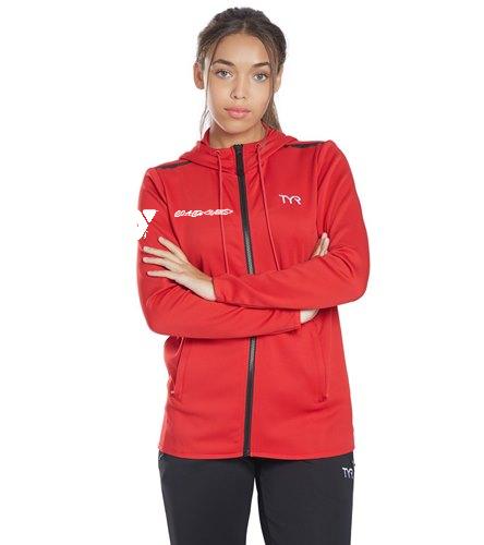 YPAC COACH - TYR Women's Team Full Zip Hoodie