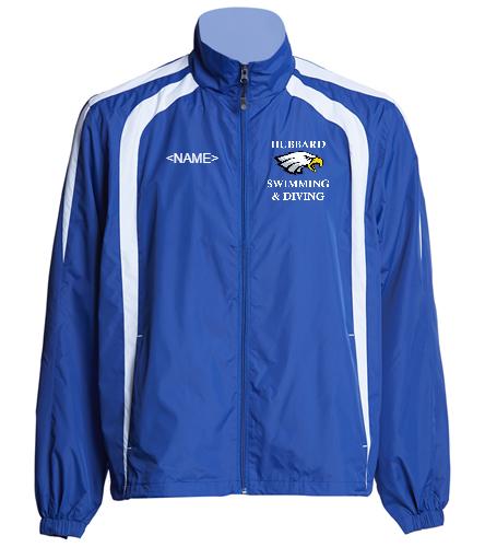 Hubbard Warm Up Jacket - SwimOutlet Unisex Warm Up Jacket