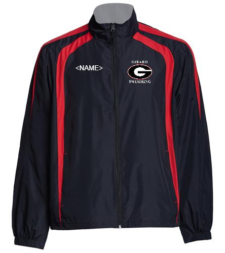 Girard Warm Up Jacket - SwimOutlet Unisex Warm Up Jacket